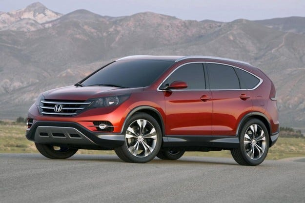 Honda New CR-V Concept