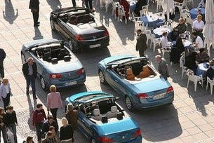 Focus Coupe-Cabriolet, Opel Astra Twin Top, VW Eos, Peugeot 307 CC
