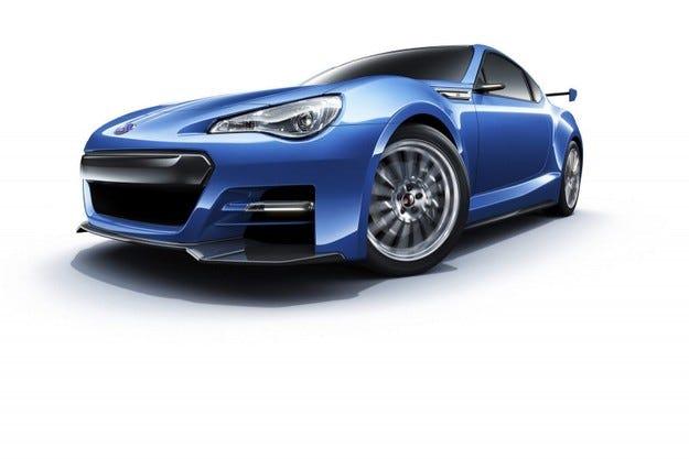 Subaru BRZ Concept - STI