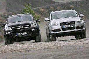 Mercedes GL 320 CDI vs. Audi Q7 3.0 TDI