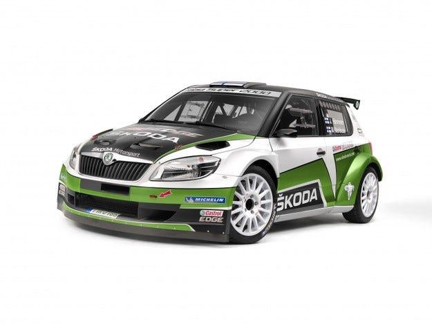 Skoda Fabia S2000 2012