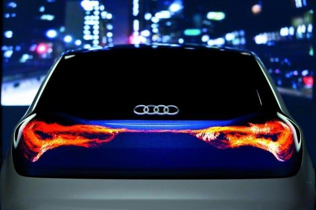 Бъдещите технологии на Audi
