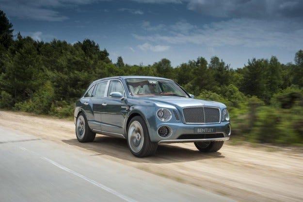 Bentley EXP 9 F