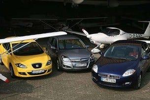 Opel Astra срещу Seat Leоn срещу Fiat Bravo