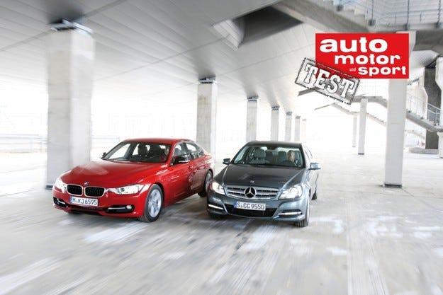 BMW 335i срещу Mercedes C 350