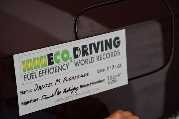 Volkswagen Passat рекорд