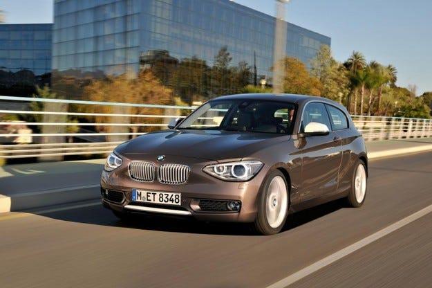 BMW 1 три врати