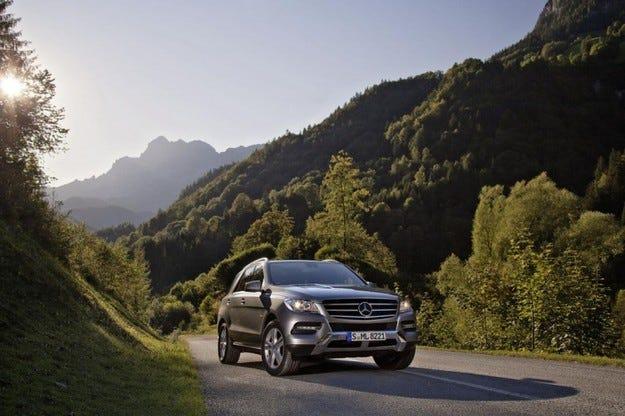Mercedes ML 500 4MATIC BlueEFFICIENCY