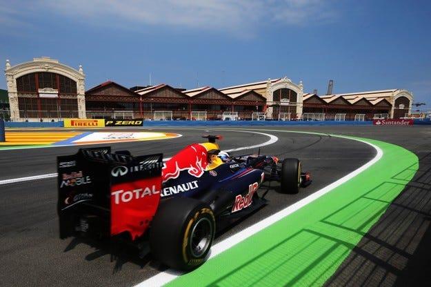 Квалификации - Гран при на Европа 2012