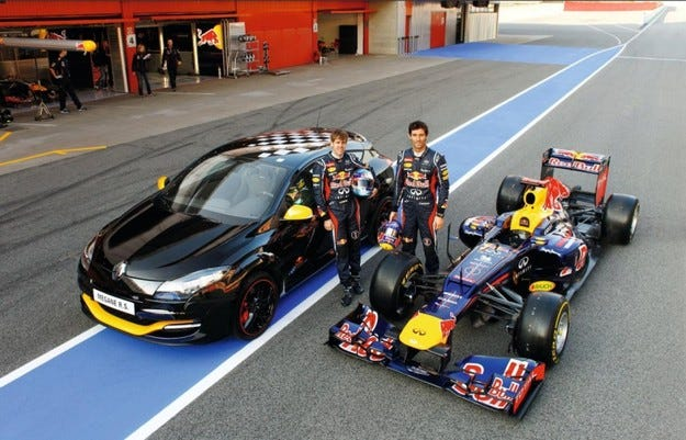 Renault Megane R.S. Red Bull Racing RB7