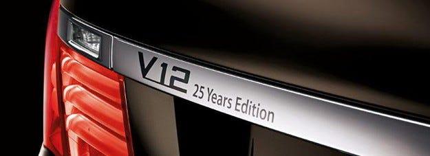 BMW 7 V-12 25 Years Edition