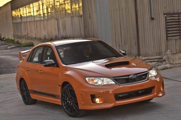 Subaru Impreza WRX и WRX STI Special Edition