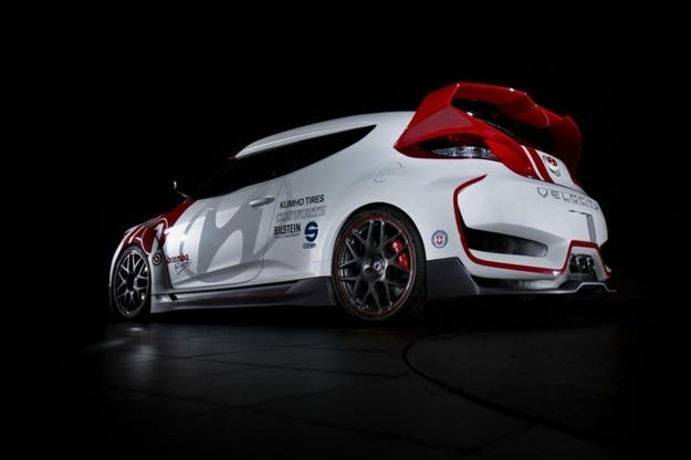 Hyundai Velocity Veloster Concept