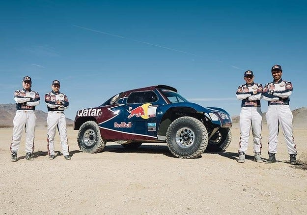Qatar Red Bull Rally Team