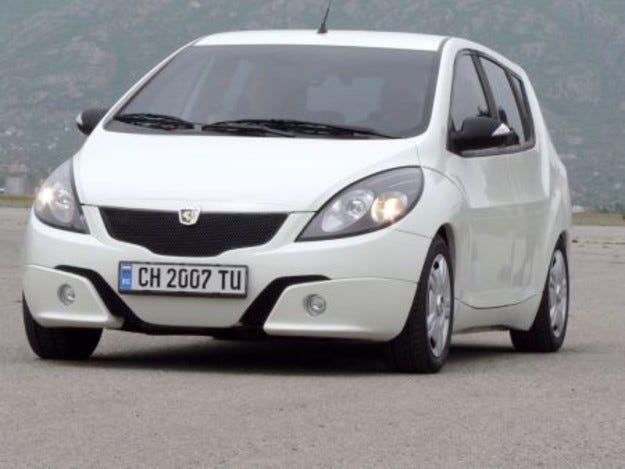 Автомобил, произведен в България