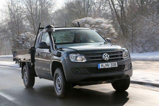 VW Amarok във версия самосвал