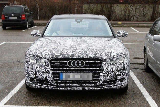 Фейслифт за Audi A8