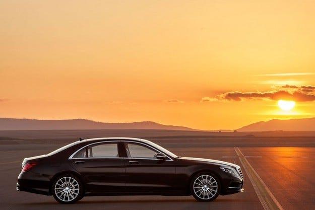 Новата S-класа на Mercedes