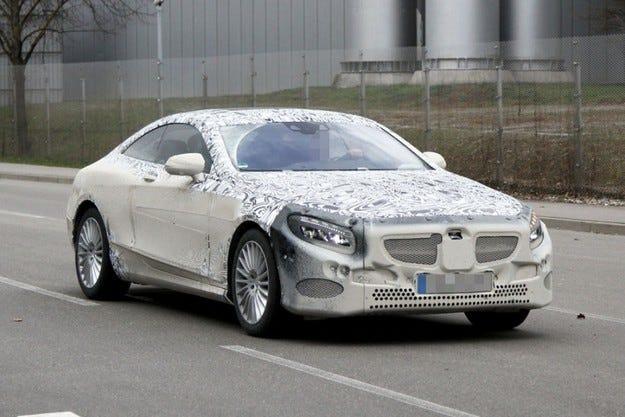 Бъдещият Mercedes CL