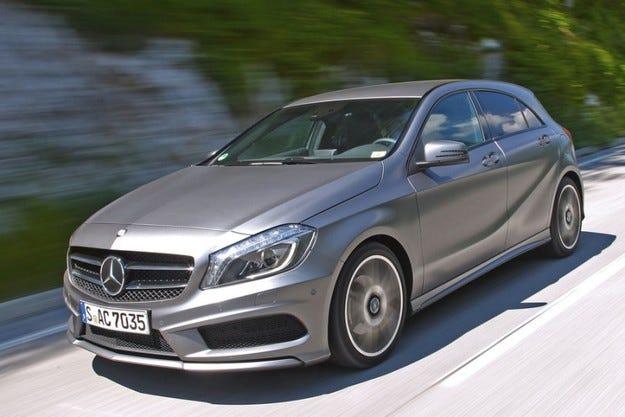 А-класата на Mercedes: 6000 автомобила с потенциален проблем с въздушните възглавници
