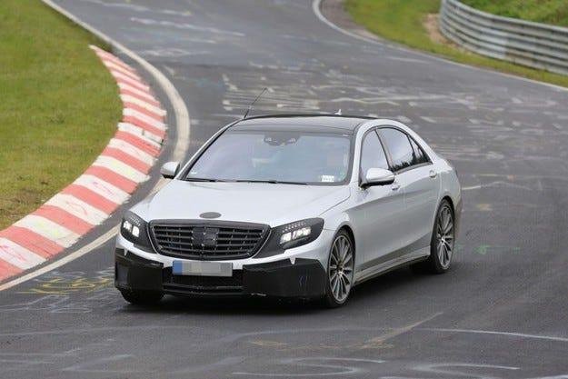 Скоро идват AMG версиите на новата S-класа