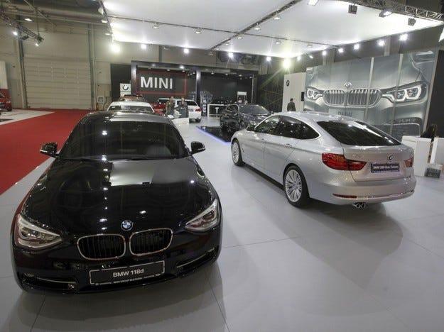 BMW Group България на Автосалон София 2013