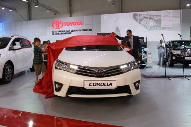 Новото поколение Toyota Corolla отпразнува световната си премиера в София