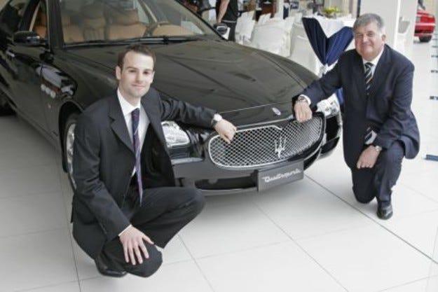 Maserati и Audemars Piguet