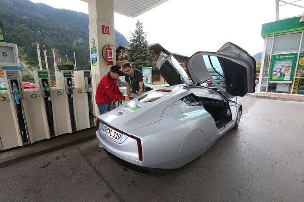 VW XL1 спечели състезанието за електромобили Силврета