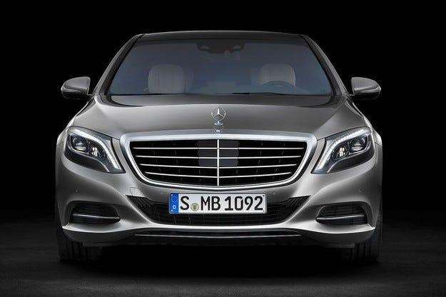 Mercedes S-класа Pullman