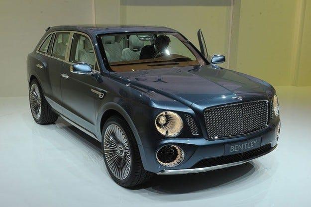 Bentley даде зелена светлина за създаването на SUV