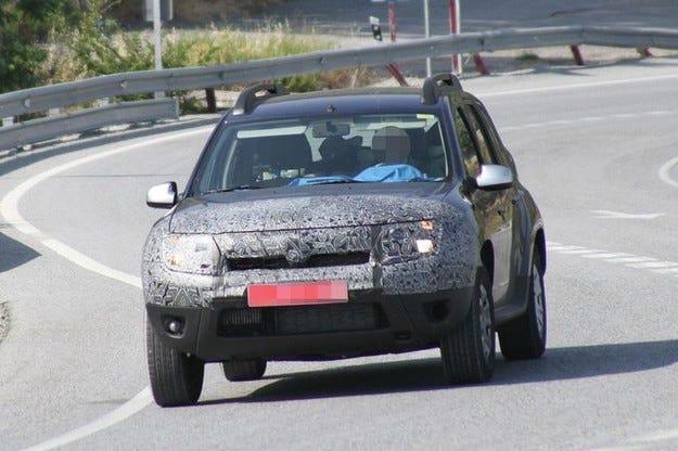 Фейслифт за Dacia Duster