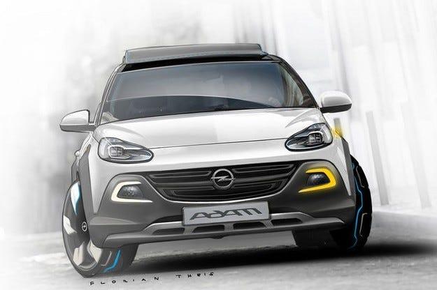 Opel ще прави кабриолет на базата на Adam