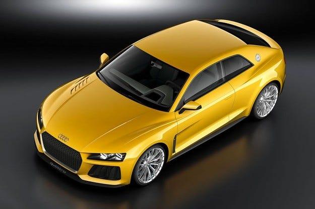 Audi Sport Quattro на IAA 2013