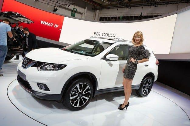 Изцяло новият Nissan X-Trail на изложението IAA