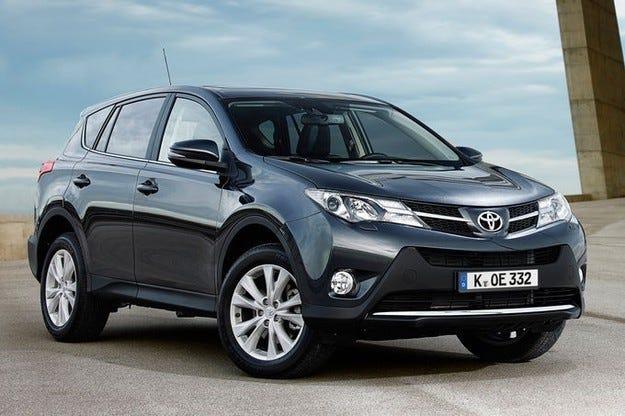 Нови варианти за Toyota RAV4