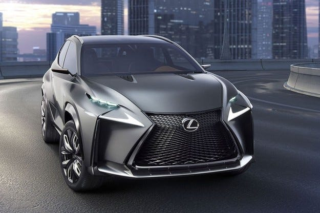 Lexus на автосалона в Токио