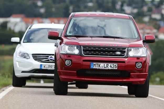 Land Rover Freelander срещу Volvo XC 60