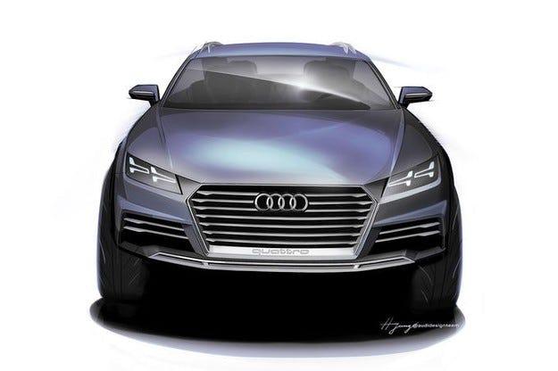 Audi на изложението в Детройт