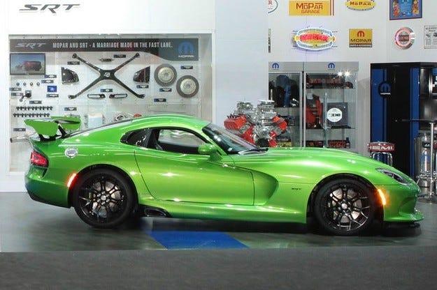 Viper SRT Styker Green