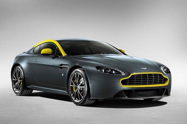Aston Martin на Женева 2014