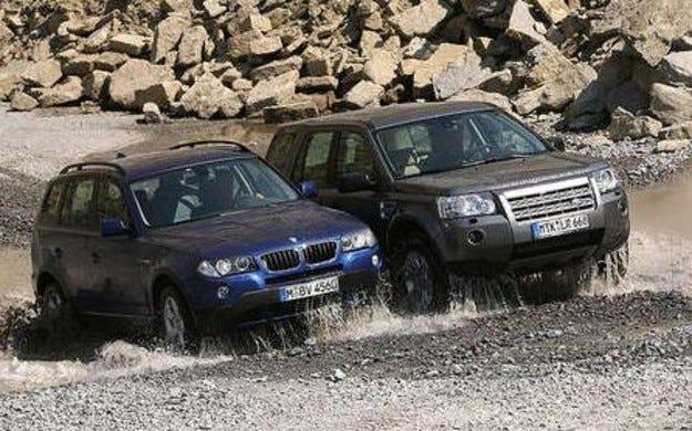 Land Rover Freelander Td4 срещу BMW X3 2.0d