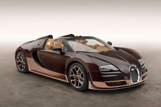 Bugatti Veyron Rembrandt:  Легендарните модели са продадени