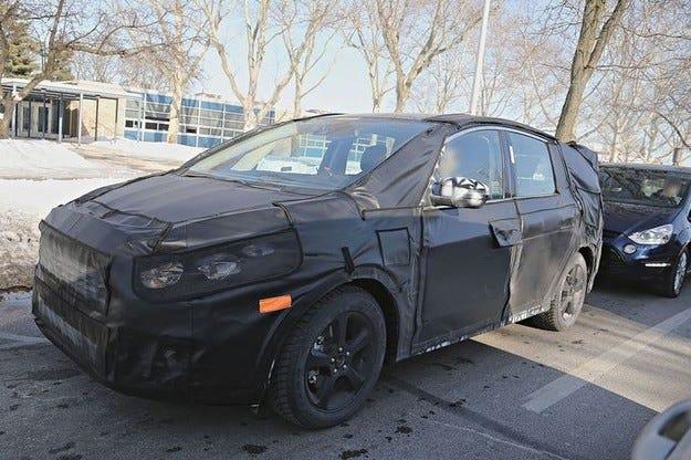 Ford S Max на салона в Париж