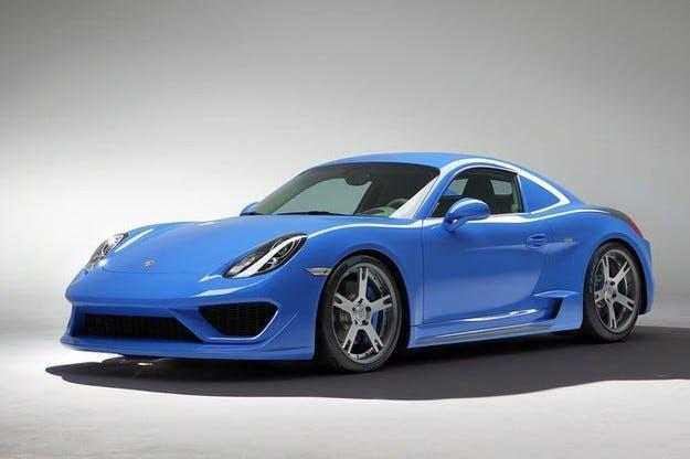 Дизайнерското студио Studiotorino преобрази Porsche Cayman
