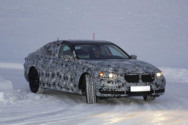 Първи пътни изпитания на новото BMW Серия 7