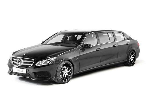Специален Binz Mercedes E-класа в XXL вариант