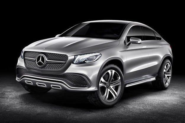 Представят концепцията Mercedes Coupé SUV в Китай