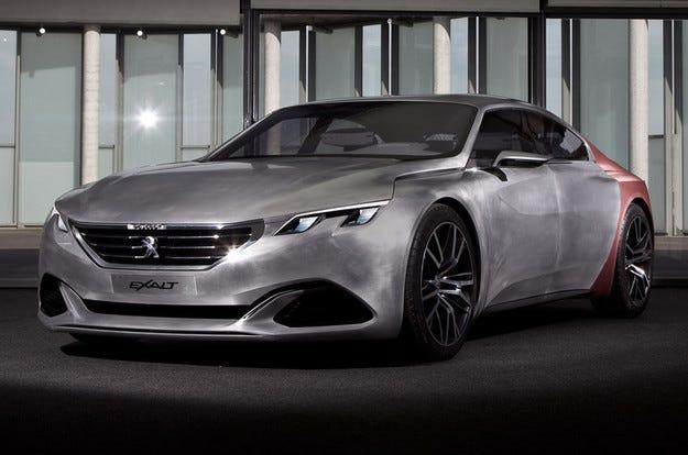 Официално: Peugeot разкри подробности за концепта Exalt