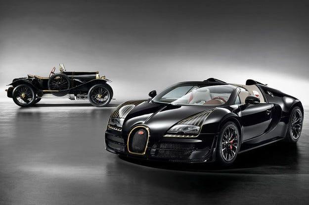 Бляскава премиера на Bugatti Veyron Black Bess в Пекин